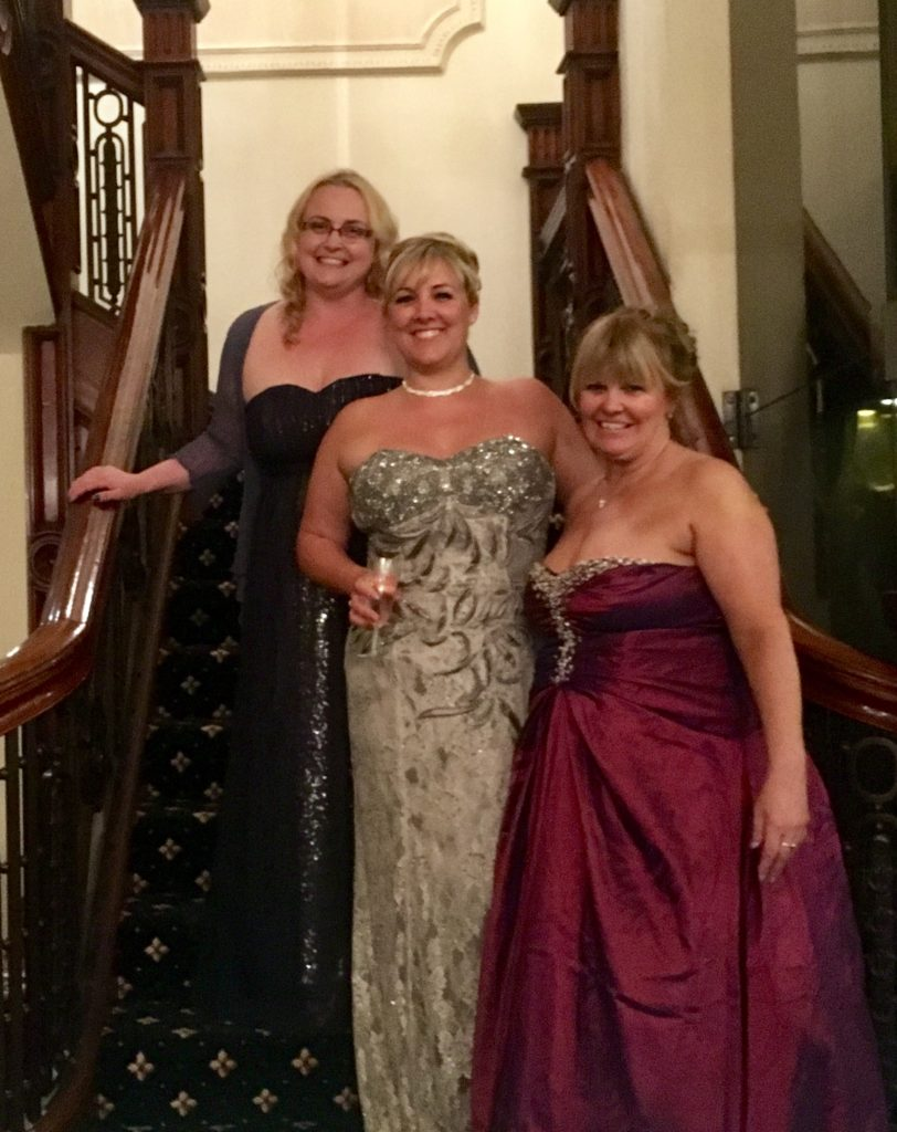 Annika, Keely and Sharon, at the Angel Ball